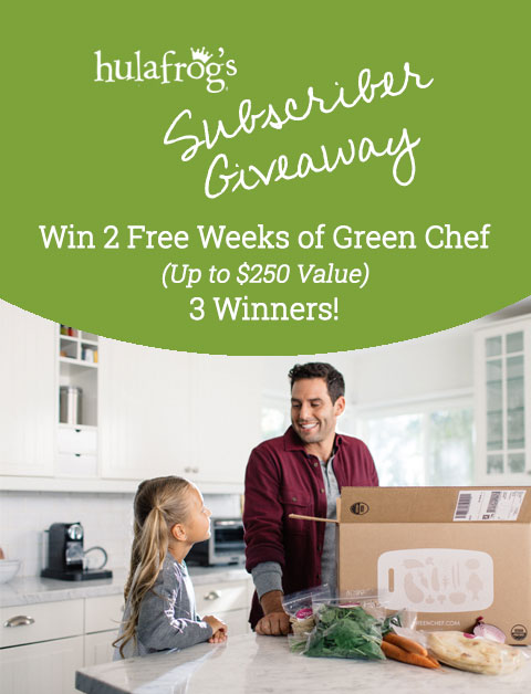 Win 2 Free Weeks of Green Chef (3 Winners)!