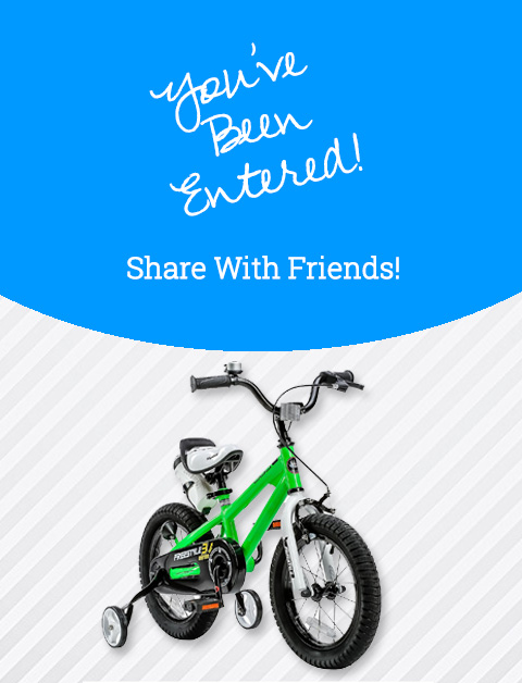 RoyalBaby BMX Freestyle Kids Bike April 2018 Giveaway
