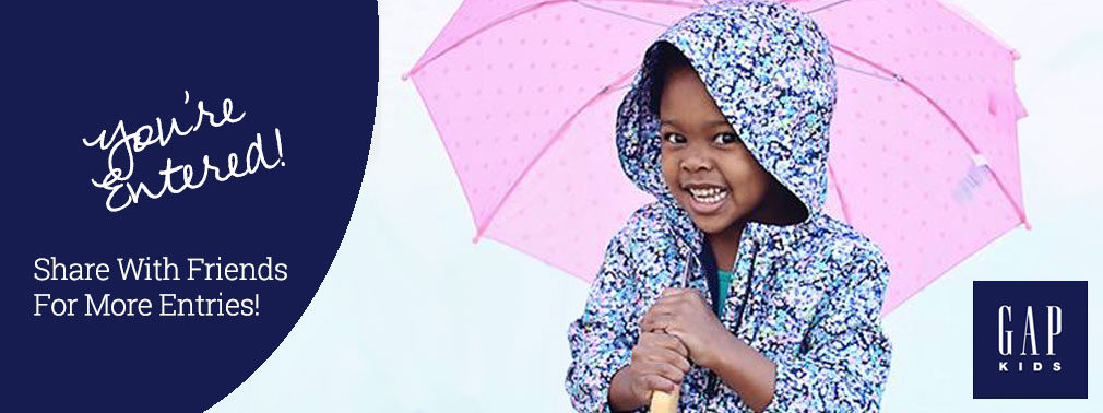 Win a $200 Gift Card to Gap Kids