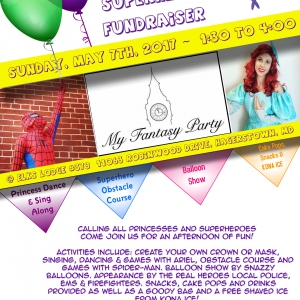 Princess and Superhero Fundraiser