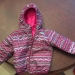 12 - 18 month girls reversible North Face coat