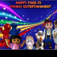 Happy Face FX Face Painting