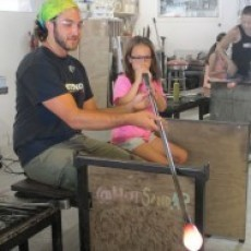 Hot Sand: Glass Blowing or Sun Tile Birthday