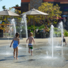 Splash Pad at The Collection Riverpark