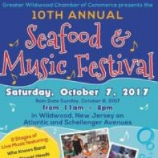 11th Annual Wildwood Seafood & Music Festival