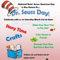 Things to do in Cape May County, NJ: Dr. Seuss Day