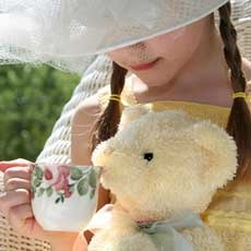 Things to do in Red Bank, NJ for Kids: Teddy Bear Tea, Monmouth Museum