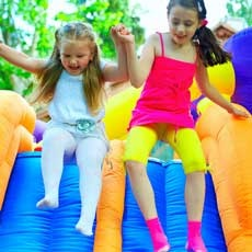 Things to do in Ocean County North, NJ for Kids: Noon Year's Eve Jump, Pump It Up of Lakewood