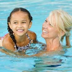 Things to do in Charlotte Center City South, NC for Kids: Family Swim, Goldfish Swim School Charlotte