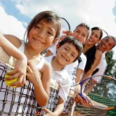 Tennis Play Day at Wilson Park for Ages 5+