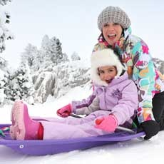 Leominster-Lancaster, MA Events for Kids: Sledding Party