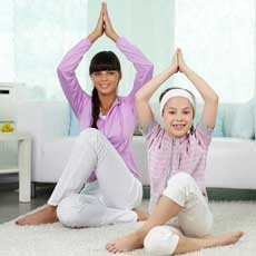 Stretch with Mother-Daughter Yoga