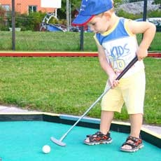 Family Night at LA NIckell Golf Course