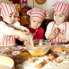 Little Chefs (Ages 3-5)
