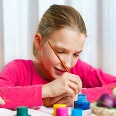 Things to do in Rock Hill, SC for Kids: Kids Canvas - Mermaid , Ceramics & More