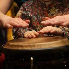 Things to do in West Hartford-Farmington Valley, CT for Kids: Family Drum Circle, MIMMO Play Cafe