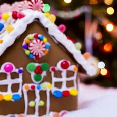 Things to do in Cape May County, NJ for Kids: Gingerbread House Decorating Contest, Byrne Plaza