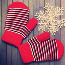 Take & Make: Winter Mitten Craft