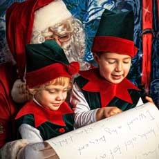 Things to do in Mission Viejo, CA for Kids: Santa's Workshop, Mission Viejo Library