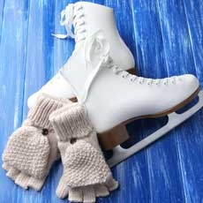 Things to do in Atlantic County, NJ for Kids: Indoor Ice Skating, Hamilton Mall