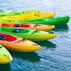 Things to do in Madison, WI for Kids: Paddling - Intro to Kayak, MSCR- Madison School & Community Recreation