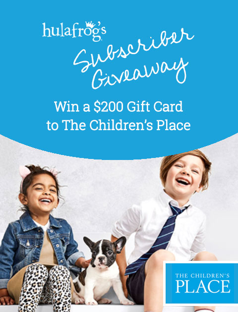 Win a $200 Gift Card to The Children's Place