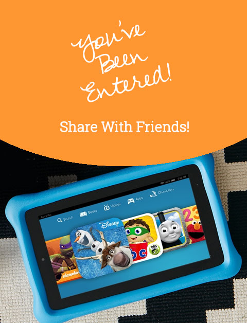 Fire HD 8 Kids Tablet February 2018 Giveaway