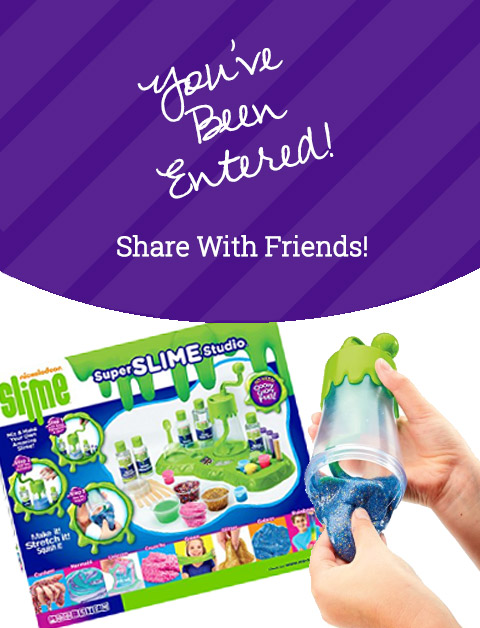 Cra-Z-Art Nickelodeon Slime Lab March 2018 Giveaway