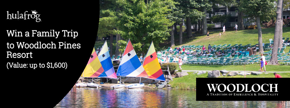 Win a Two Night Getaway for a Family of 4 to Woodloch Pines Resort