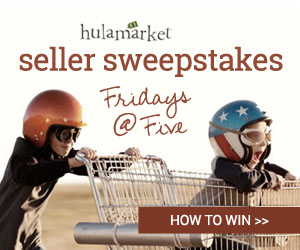HulaMarket Seller Sweepstakes. Fridays at Five. How to Win...