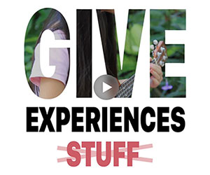 give experiences video