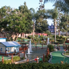 Things to do in Los Angeles South Bay, CA for Kids: Miniature Golf, Mulligan Family Fun Center Torrance