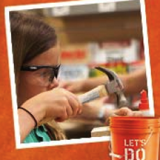 Build A Flower Pot Event In Home Depot