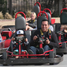 Things to do in Los Angeles South Bay, CA for Kids: Go Karts & Rookie Go Kart, Mulligan Family Fun Center Torrance