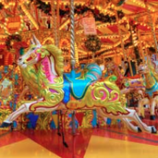 Things to do in Brookline-Norwood, MA: Take a Spin on the Frog Pond Carousel