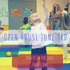 Free Toddler Class & Open House