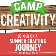 Things to do in Spring Hill, FL for Kids: Michael's Camp Creativity , Michaels in Spring Hill