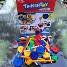 Tinkertoys Wild Wheels Building Set