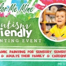 Sensory Friendly Painting Party