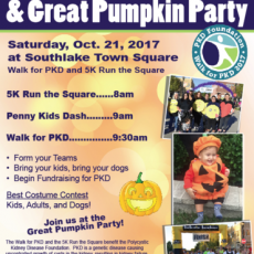 Walk for PKD and Great Pumpkin Party