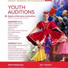 Moscow Ballet's Great Russian Nutcracker Youth Auditions