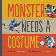 Monster Needs A Costume Storytime