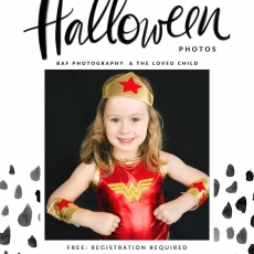 Halloween Photo Session with BAF Photography