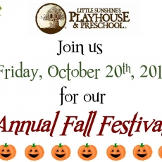Little Sunshine's Fall Festival!