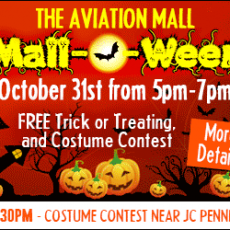Lake George-Saratoga Springs, NY Events for Kids: Mall- O-Ween