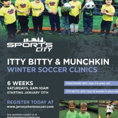 Winter Itty Bitty & Munchkin Sign-ups!