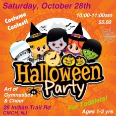 Tot Halloween Party & Costume Contest (Ages 1-3)