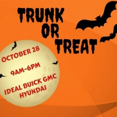 trunk or treat at ideal buick gmc hyundai hulafrog frederick md hulafrog