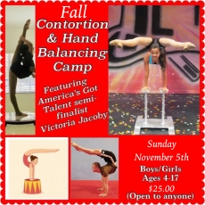 Contortion & Hand Balancing Camp with Miss Victoria from America's Got Talent