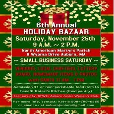 6th Annual Holiday Bazaar